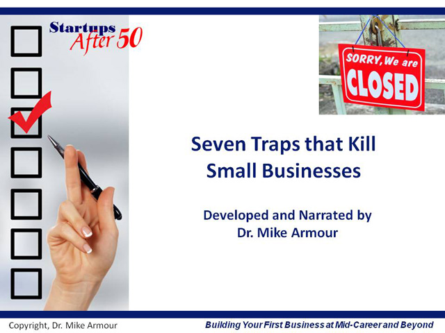 Title Slide: Seven Traps that Kill Small Businesses
